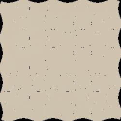 Modernizm Bianco Mozaika Prasowana K.3,6X4,4 - Biały - 309x309 - Mozaiki - Modernizm