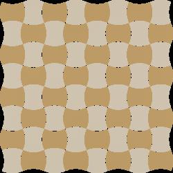 Modernizm Bianco Mozaika Prasowana K.3,6X4,4 Mix C - Biały - 309x309 - Mozaiki - Modernizm