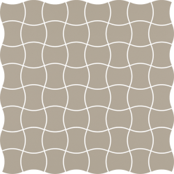 Modernizm Grys Mozaika Prasowana K.3,6X4,4 - Szary - 309x309 - Mozaiki - Modernizm