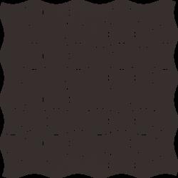 Modernizm Nero Mozaika Prasowana K.3,6X4,4  - Czarny - 309x309 - Mozaiki - Modernizm