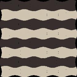 Modernizm Nero Mozaika Prasowana K.3,6X4,4 Mix B  - Czarny - 309x309 - Mozaiki - Modernizm