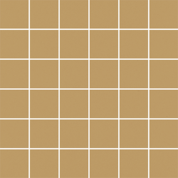 Modernizm Ochra Mozaika Cięta K.4,8X4,8  - Brązowy - 298x298 - Mozaiki - Modernizm