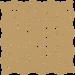 Modernizm Ochra Mozaika Prasowana K.3,6X4,4 - Brązowy - 309x309 - Mozaiki - Modernizm