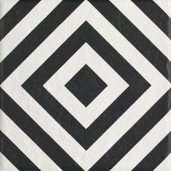 Modern Gres Szkl. Struktura Motyw B  - Wielokolorowe - 198x198 - Fussbodenfliesen - Modern