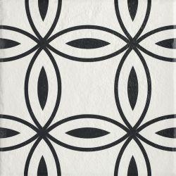 Modern Gres Szkl. Struktura Motyw D  - Wielokolorowe - 198x198 - Floor tiles - Modern
