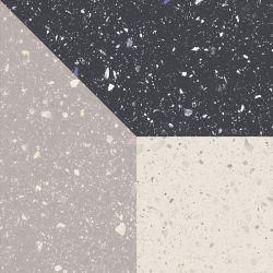 Moondust Colour Mix Dekor Gres Szkl. Mat.  - Wielokolorowe - 198x198 - Płytki podłogowe - Moondust