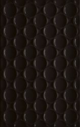 Martynika Nero Ściana Struktura - Czarny - 250x400 - Wall tiles - Martynika