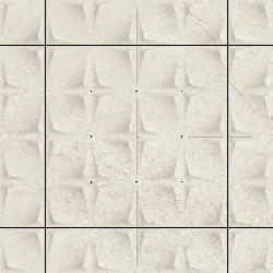 Minimal Stone Grys Mozaika Prasowana K.4,8X4,8   - Szary - 298x298 - Dekoracje - Minimal Stone