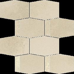 Naturstone Beige Mozaika Cięta Hexagon Mix   - Beżowy - 286x233 - Dekoracje - Naturstone
