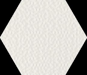 Noisy Whisper White Struktura Ściana - Wielokolorowe - 198x171 - Wandfliesen - Noisy Whisper