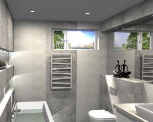 Kamienny spokój w łazience