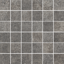 Riversand Grafit Mozaika Cięta K.4,8X4,8 Mat.  - Szary - 298x298 - Dekoracje - Riversand