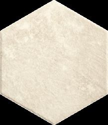 Scandiano Beige Heksagon   - Beżowy - 260x260 - Płytki podłogowe - Scandiano