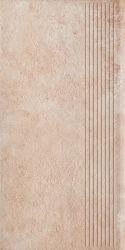 Scandiano Ochra Stopnica Prosta - Brązowy - 300x600 - Finishing elements - Scandiano