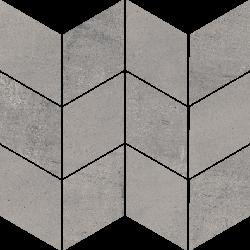 Space Grafit Mozaika Cięta Romb Braid Poler  - Szary - 205x238 - Dekoracje - Space