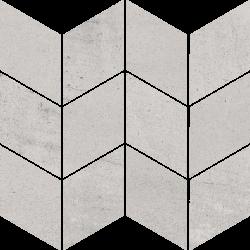 Space Grys Mozaika Cięta Romb Braid Mat - Szary - 205x238 - Dekoracje - Space