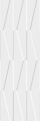 Tel Awiv Bianco Ściana C Struktura Rekt.   - Biały - 298x898 - Płytki ścienne - Tel Awiv