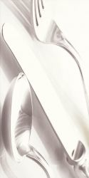 Vivida Bianco Inserto Kuchenne A  - Biały - 300x600 - декорации - Vivida / Vivido