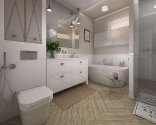Styl Modern Classic w klasycznej łazience