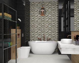 Geometryczna dominacja w łazience