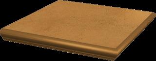Aquarius Brown Kapinos Stopnica Narożna  - Brązowy - 330x330 - Płytki podłogowe - Aquarius