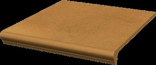 Aquarius Brown Kapinos Stopnica Prosta  - Brązowy - 300x330 - Płytki podłogowe - Aquarius