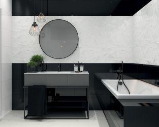 aranzacja-nowoczesnej-czarno-bialej-lazienki-synergy-ceramika-paradyz