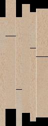 Arkesia Beige Listwa Paski Mix  - Beżowy - 200x520 - Dekoracje - Arkesia