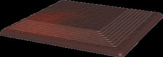 Cloud Brown Stopnica Narożna Duro  - Brązowy - 300x300 - Płytki podłogowe - Cloud