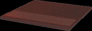 Cloud Brown Stopnica Prosta Duro  - Brązowy - 300x300 - Płytki podłogowe - Cloud
