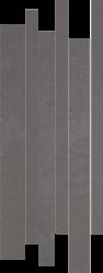 Doblo Grafit Listwa Mix Paski  - Szary - 200x520 - Dekoracje podłogowe - Doblo