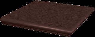 Natural Brown Kapinos Stopnica Narożna Duro  - Brązowy - 330x330 - Płytki podłogowe - Natural