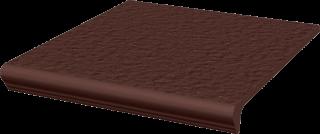 Natural Brown Kapinos Stopnica Prosta Duro  - Brązowy - 300x330 - Płytki podłogowe - Natural