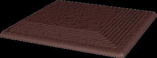 Natural Brown Stopnica Narożna Duro  - Brązowy - 300x300 - Płytki podłogowe - Natural