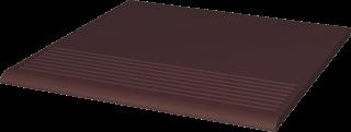 Natural Brown Stopnica Prosta   - Brązowy - 300x300 - Płytki podłogowe - Natural