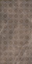 Palazzo Brown Inserto Shine  - Brązowy - 300x600 - Dekoracje - Palazzo