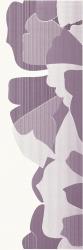 Indy Viola Inserto Kwiat A  - Fioletowy - 250x750 - Dekoracje ścienne - Indy / Indo