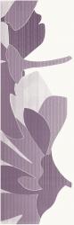 Indy Viola Inserto Kwiat B  - Fioletowy - 250x750 - Dekoracje ścienne - Indy / Indo