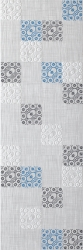 Tolio Grys Inserto B   - Szary - 250x750 - Wall decorations - Tolio / Toli