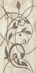 Amiche Beige Inserto A   - Beżowy - 300x600 - Decorations - Amiche / Amici