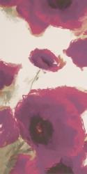 Uniwersalne Inserto Viola Maki A  - Fioletowy - 300x600 - Dekoracje ścienne - Uniwersalne inserta ceramiczne