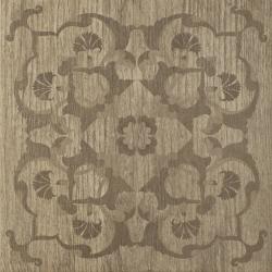 House Brown Inserto Mat. D  - Brązowy - 450x450 - Dekoracje ścienne - House