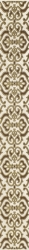 Coraline Brown Listwa Classic   - Wielokolorowe - 070x600 - Dekoracje - Coraline / Coral