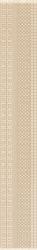 Meisha Bianco Listwa   - Biały - 090x600 - декорации - Meisha / Garam