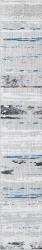 Tolio Grys Listwa   - Szary - 124x750 - Dekoracje ścienne - Tolio / Toli