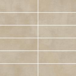 Tecniq Beige Mozaika Cięta K.4,8X14,8 Mat.  - Beżowy - 298x298 - Decorations - Tecniq