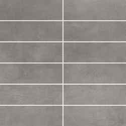 Tecniq Silver Mozaika Cięta K.4,8X14,8 Mat.  - Szary - 298x298 - Dekoracje - Tecniq