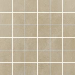 Tigua Beige Mozaika Cięta K.4,8X4,8 Mat.  - Beżowy - 298x298 - Decorations - Tigua