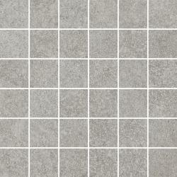 Flash Grys Mozaika Cięta K.4,8X4,8 Półpoler  - Szary - 298x298 - Dekoracje - Flash
