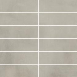Tecniq Grys Mozaika Cięta K.4,8X14,8 Półpoler  - Szary - 298x298 - Dekoracje - Tecniq